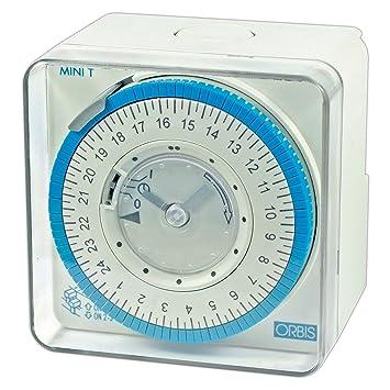Orbis Mini T-QRD 230 V Interruptor horario analógico Universal, OB251232