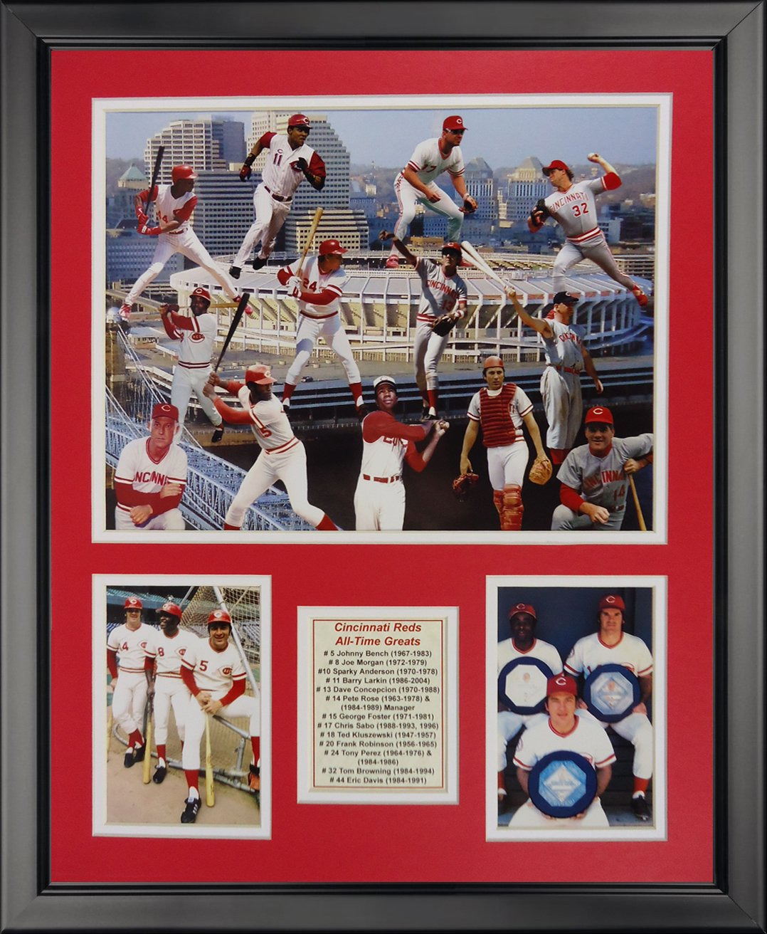 Legends Never Die MLB All-Time Greats Framed Photo Collage