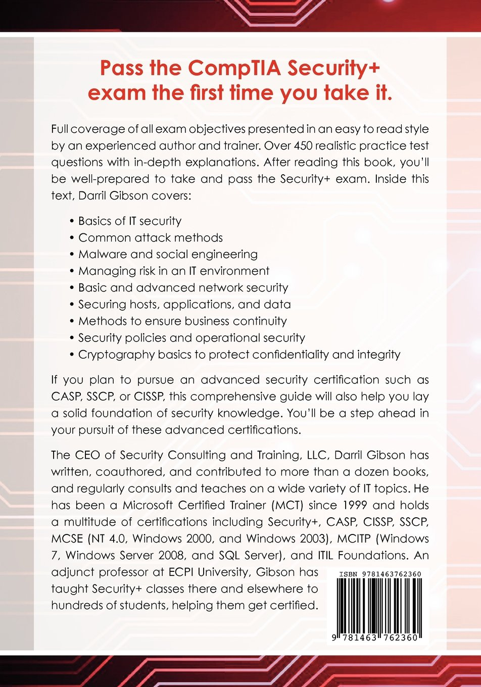 Comptia security get certified get ahead sy0 301 study guide comptia security get certified get ahead sy0 301 study guide amazon darril gibson 9781463762360 books 1betcityfo Image collections