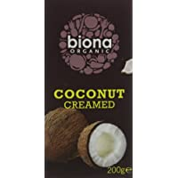 Biona Organic Creamed Coconut 200g (Pack of 6)