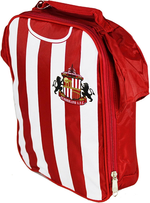 Sunderland AFC - Bolsa para la Comida de Oficial (Talla Única) (Rojo/Blanco)