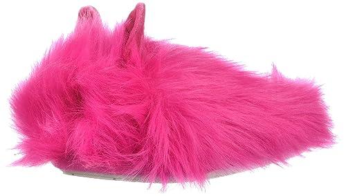 24d75040471 Steve Madden Girls' JBUNIEV Slipper, Hot Pink, Medium M US Little ...