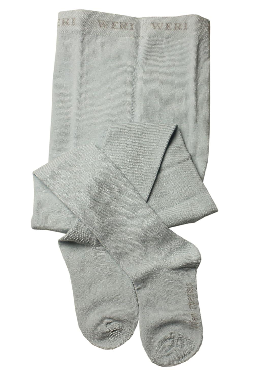 Surface douce Couleur unie Taille: 2-3 ans 92-98 Bleu pale Weri Spezials Enfants Collants