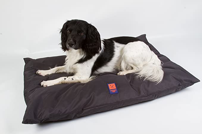 Ginger Ted Deep Cushion Duvet Style Waterproof Dog Bed Cover ONLY Navy Blue size Medium