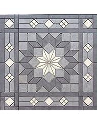 """36 1/16"""" X 36 1/16"""" Daltile Cliff Pointe Porcelain Tile Medallion Mosaic Accent"""