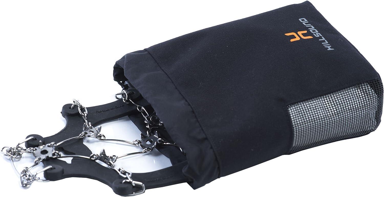 Hillsound Spikeeper Hiking Crampon Bag Black 1 Size