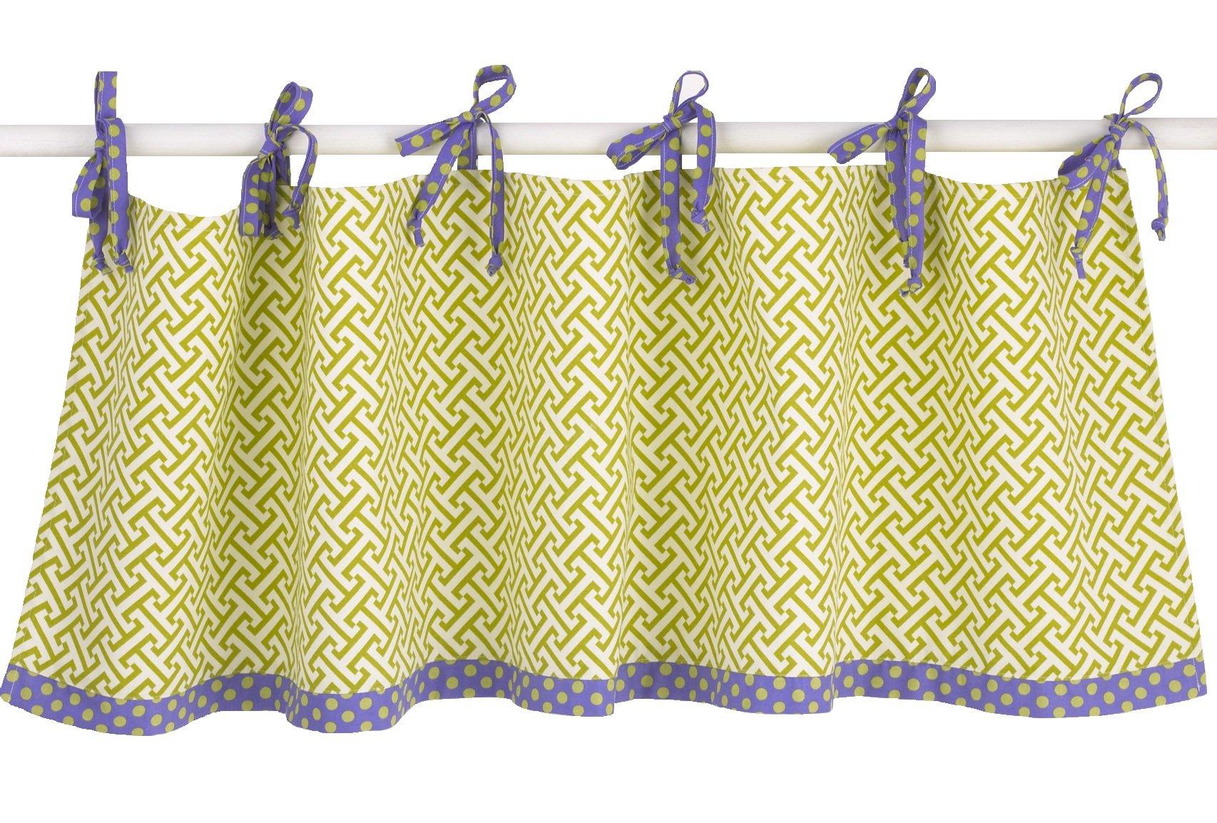 Cotton Tale Designs Valance, Periwinkle