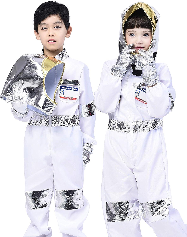 IKALI Disfraz de Doctor de niños, clásico Batas de Laboratorio, El Juego de aparentar Equipo con Accesorios (7 Piezas)