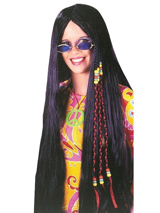 Vintage Wigs | 1920s, 1930s, 1940s, 1950s, 1960s, 1970s Fun World - Hippie Wig $10.18 AT vintagedancer.com