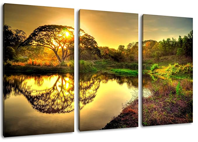 World of Warcraft painting on canvas, 3-piece (Total Size: 47.2\