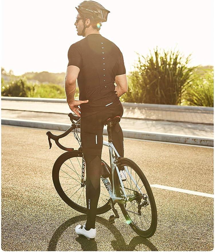 Cuzaekii Compression Cycling Leg Warmers Bike Running Basketball Soccor Leggings