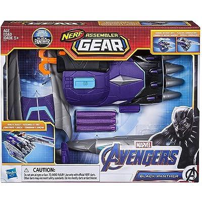 Avengers Marvel Endgame: Nerf Black Panther Assembler Gear: Toys & Games