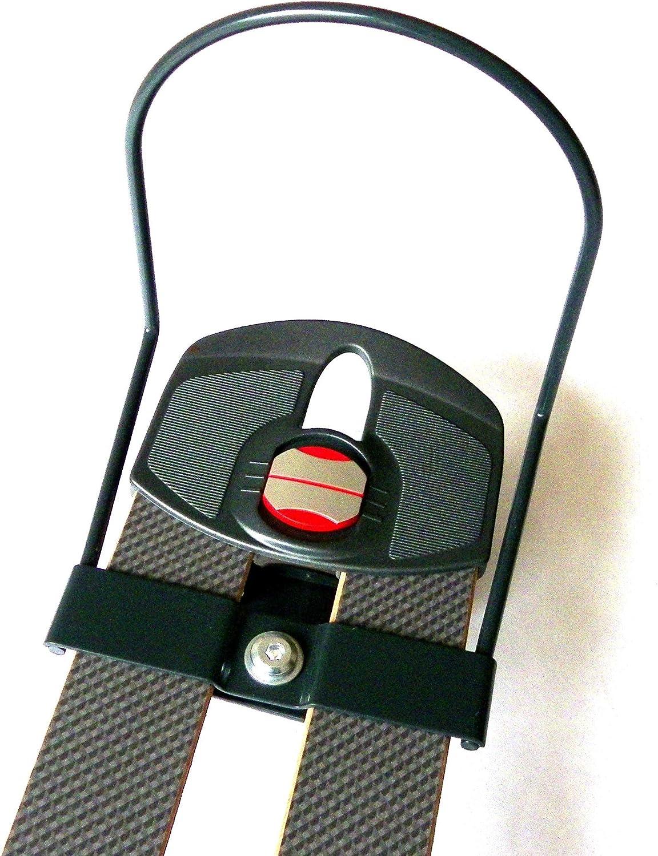 Accesorios para cama de matrimonio extraplano para láminas de 2 x 38 x 140 cm, color gris (4 piezas)