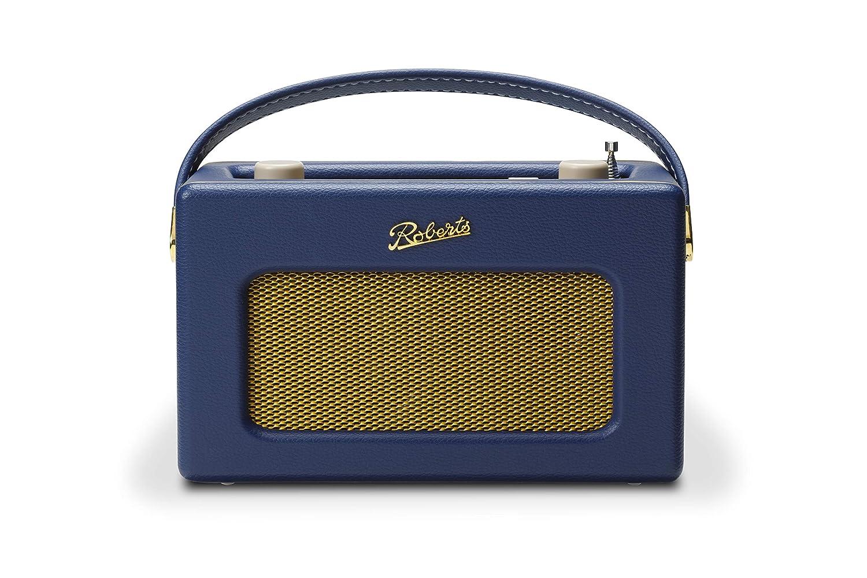 Roberts Revival iStream 3 Midnight Dab+//FM// Music//Spotify//Tidal//Deezer//USB + Internetradio Vintage Large Azul Medianoche