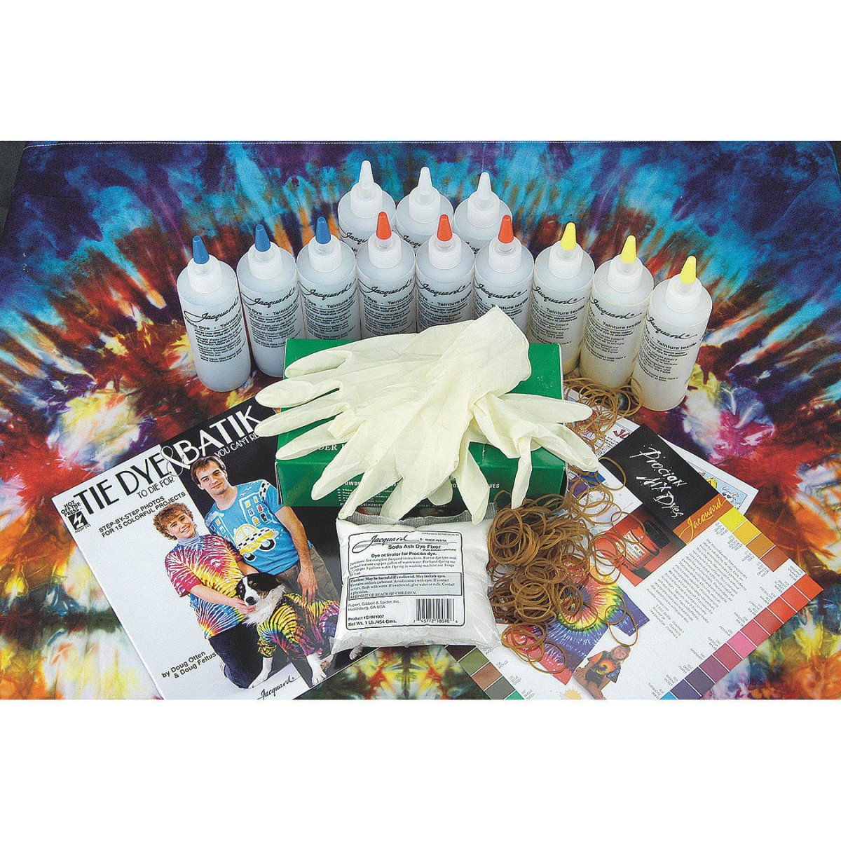 amazon com jacquard tie dye class pack