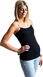 Undercover Mama Nursing Tank Top - Perfect Breastfeeding or Pregnancy Undershirt