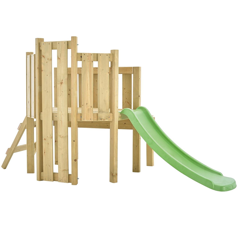 TP Forest Kleinkinder Holz Klettergerüst & Slide: Amazon.de: Spielzeug