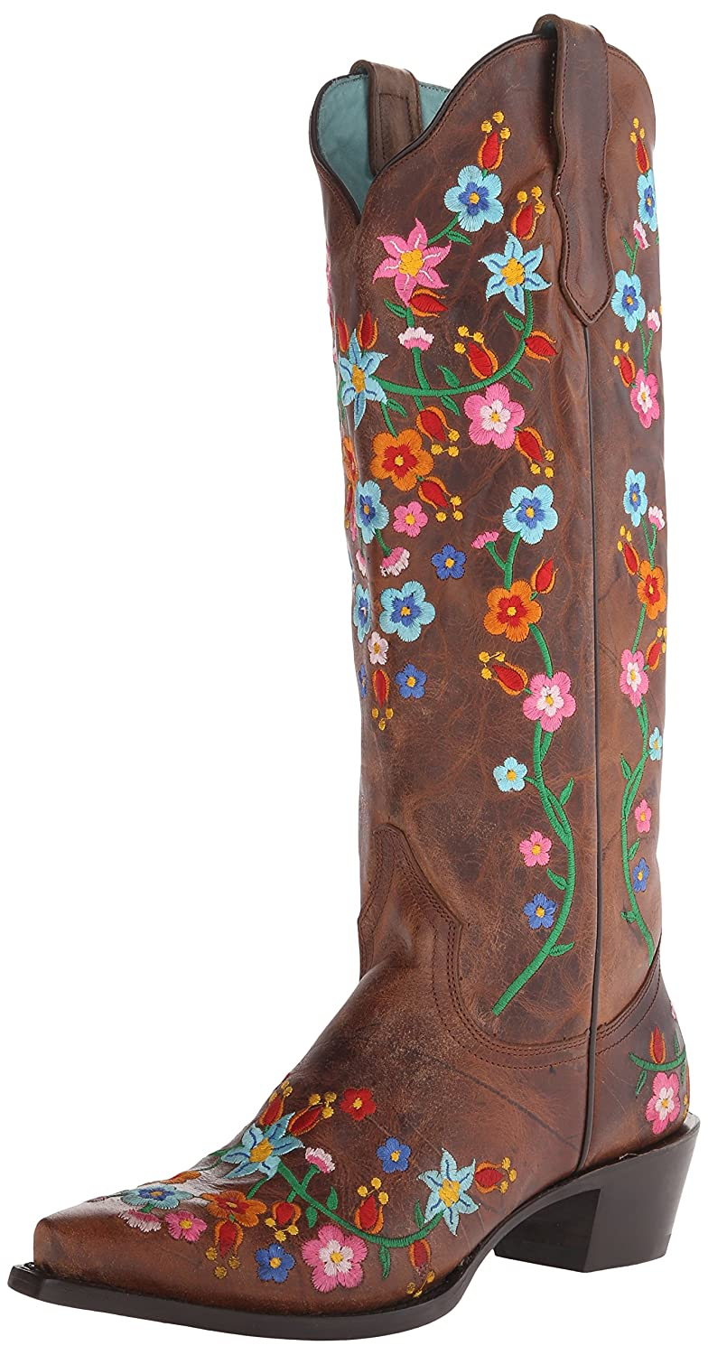 Stetson Women's Flora Riding Boot B00U9XZ1PW 6.5 D US|Brown