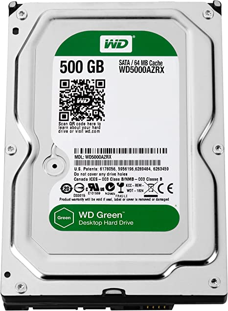 Western Digital Caviar Green - Disco Duro Interno de 500 GB ...