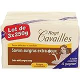 Rogé Cavaillès Savon Surgras Extra-doux Lot de 3 x 250 g