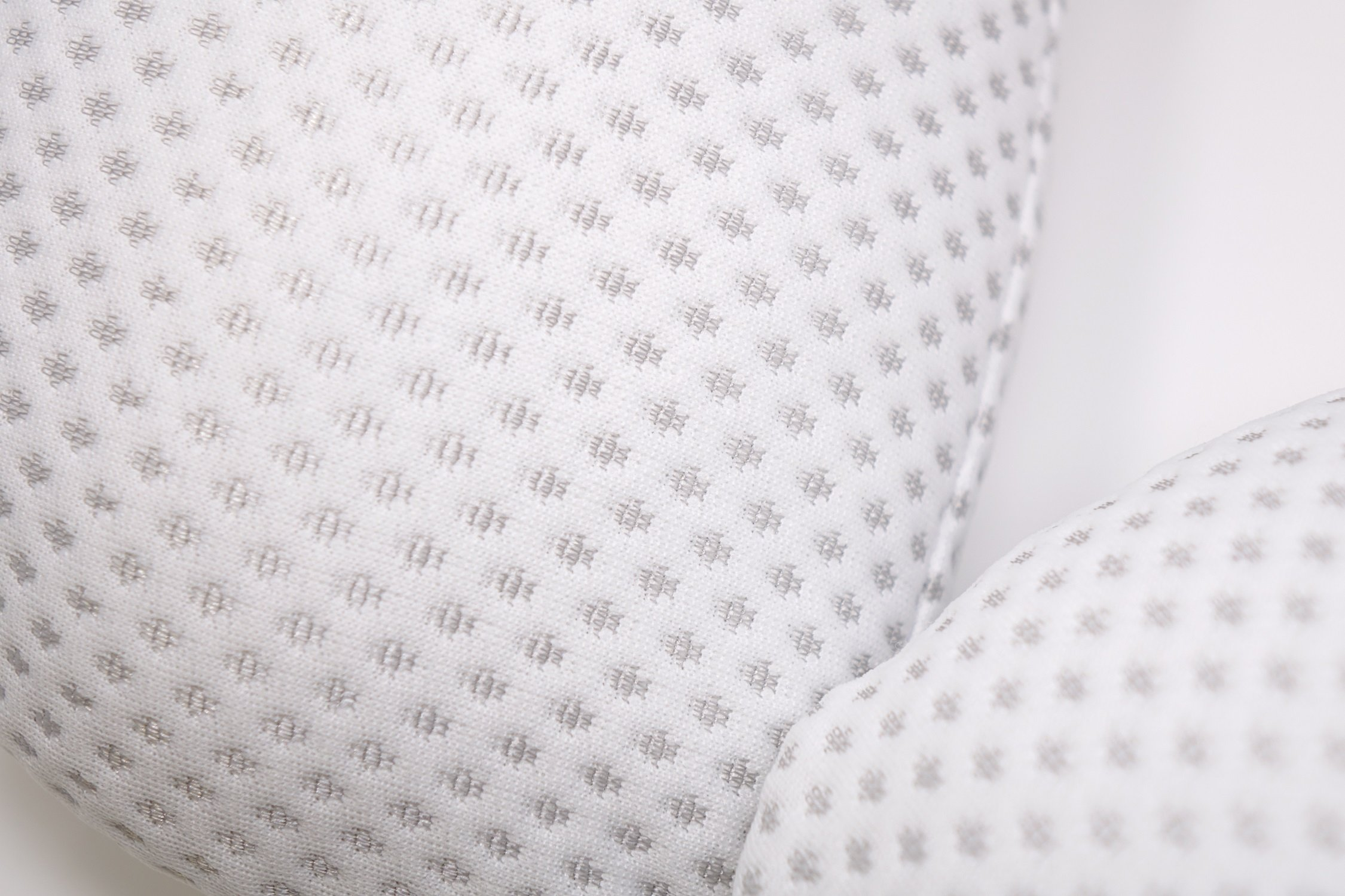 Comfortable New Silver Dot Design Nursing Pillow for Mom and Baby by All American Collection, Portable,Soft and Light by All American Collection (Image #3)