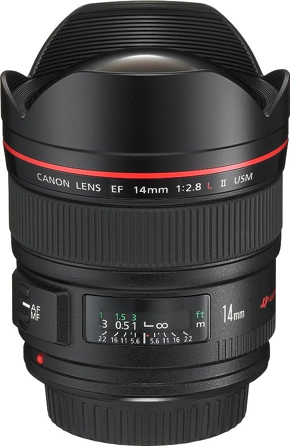 Canon EF 14mm/ 2,8/ L USM II Objektiv: Amazon.de: Kamera