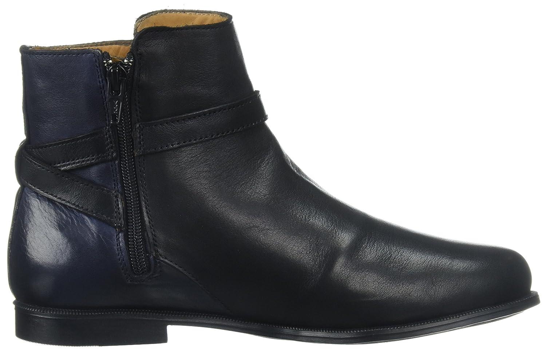 Sebago (schwarz/Navy Damen Plaza Ankle Chelsea Stiefel Mehrfarbig (schwarz/Navy Sebago Leder) 483e77
