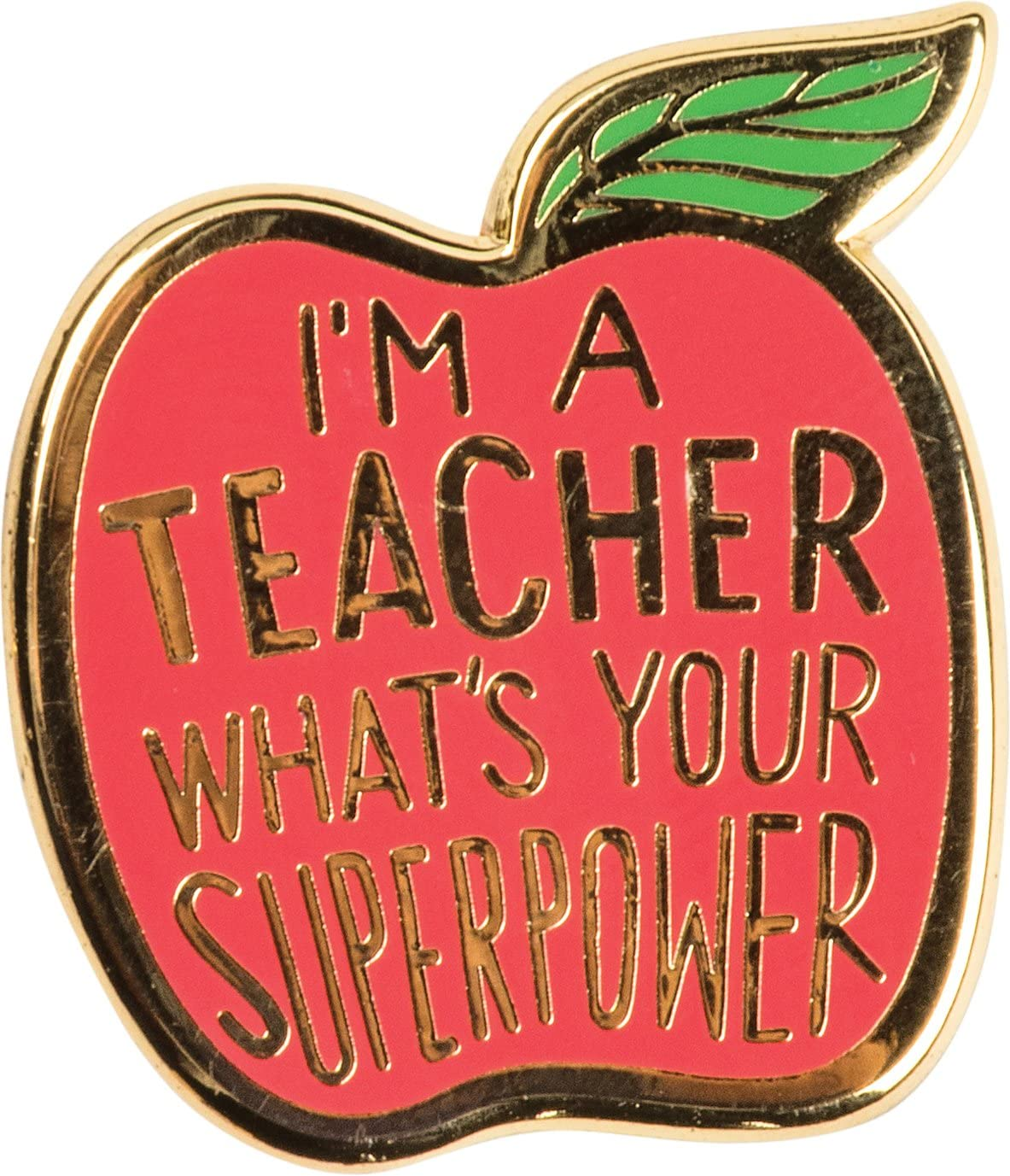 LOL Enamel Pin - Teacher, What's Your Superpower