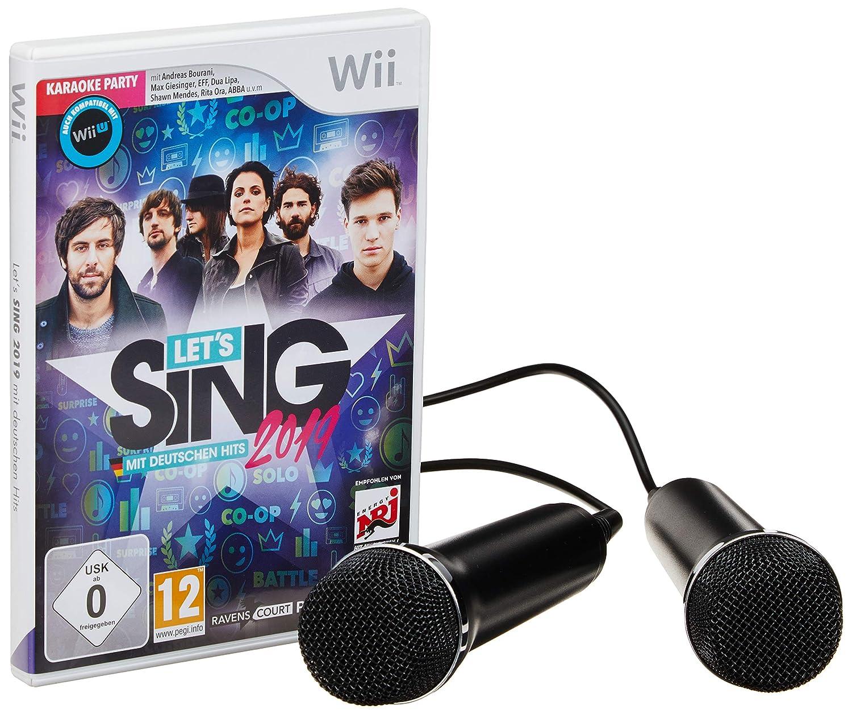 Let's Sing 2019 mit deutschen Hits [+ 2 Mics] (WII)
