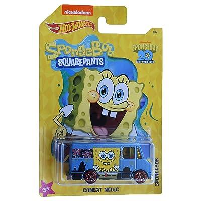 Hot Wheels Spongebob Combat Medic 1/6, Blue: Toys & Games