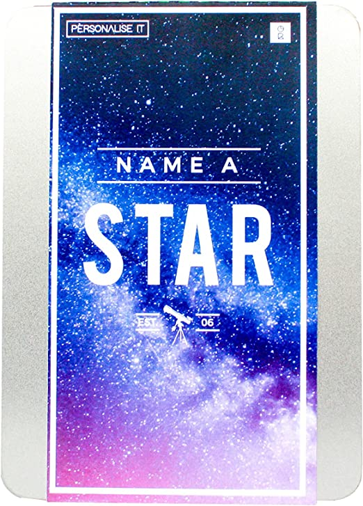 Personalised Birthday GreatGrandson Gifts Name A Star Box Set For Him Men
