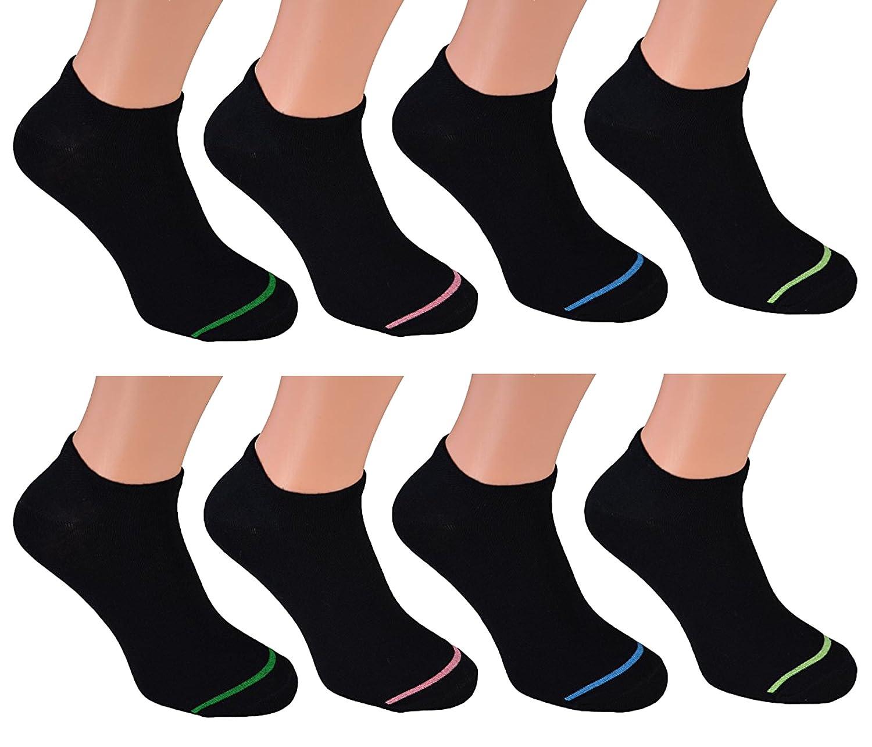 8 Paar kurze Sneakers-Socken für Herren Markensocken von Cocain - 6 verschiedene Top-Modelle wählbar Größen die modische Sommersocke für Ihn - 39 bis 46