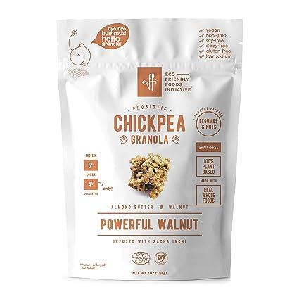 Chickpea Granola Potente nogal, grano orgánico libre de ...
