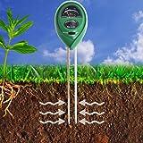 XLUX Soil pH Meter, 3-in-1 Soil Test Kit For Moisture, Light & pH, for Home And Garden, Lawn, Farm, Plants, Herbs & Gardening Tools, Indoor/Outdoors Plant Care Soil Tester