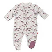 Magnificent Baby Cotton Magnetic Footie, Cheyenne