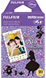 Fuji Instax Mini Films - Disney Alice in Wonderland | Usable with Polaroid Mio & 300