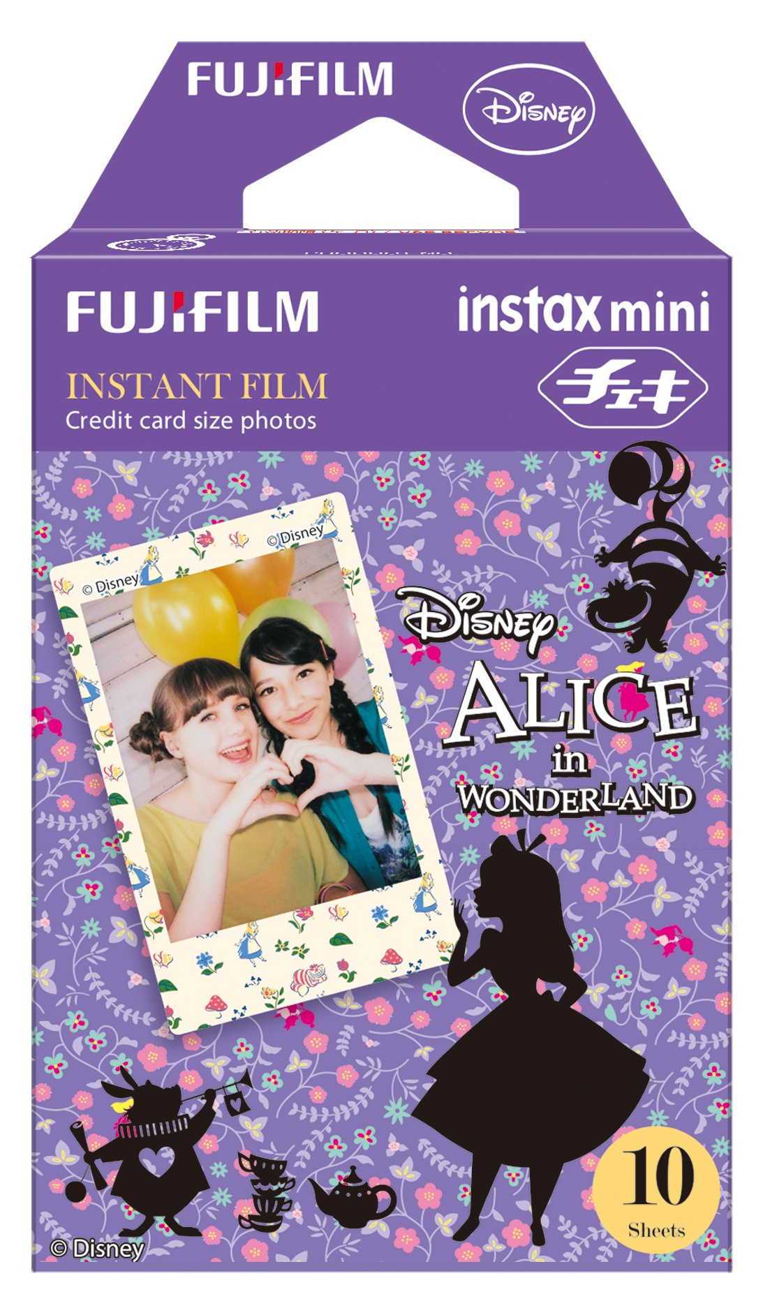 Fujifilm Instax Mini Films - Disney Alice in Wonderland