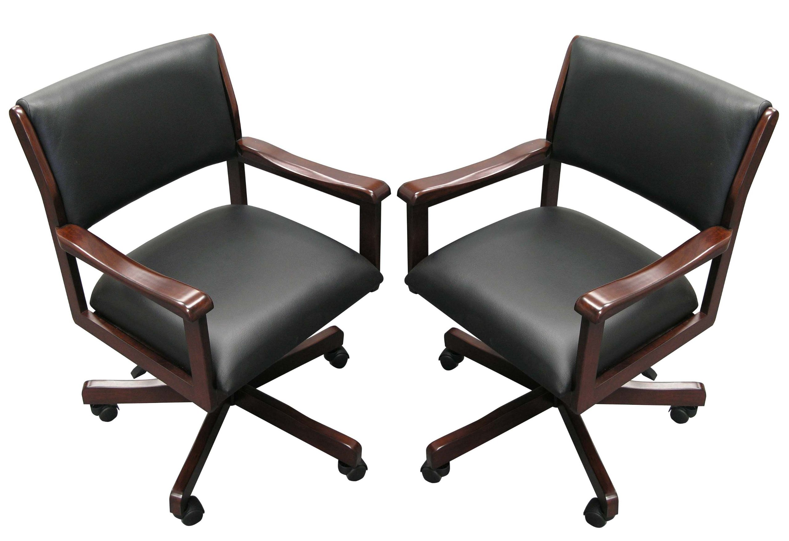 Two Signature Game Chairs (Mahogany)