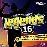 Zoom Karaoke CD+G - Legends Volume 16 - Bob Dylan/Donovan/Simon & Garfunkel/Cat Stevens [Card Wallet [Import anglais]