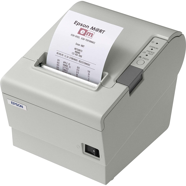 Epson C31C636A7611 TM-T88 ReStick 80mm Thermal Receipt Printer, USB