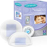 Lansinoh Breast Pads, Ultimate Protection Nursing Pads for Breastfeeding, 50 count