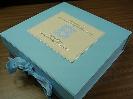Caja de recuerdos para bebé, Baby Boy, nombres de bebé, bautizo, bebé