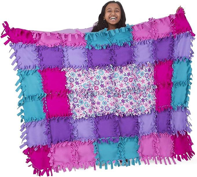 Amazon Com Melissa Doug Flower Fleece Quilt Toy Toys Games