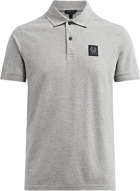 Belstaff Hombres Camisa Polo de piqué Algodón stannett Negro ...