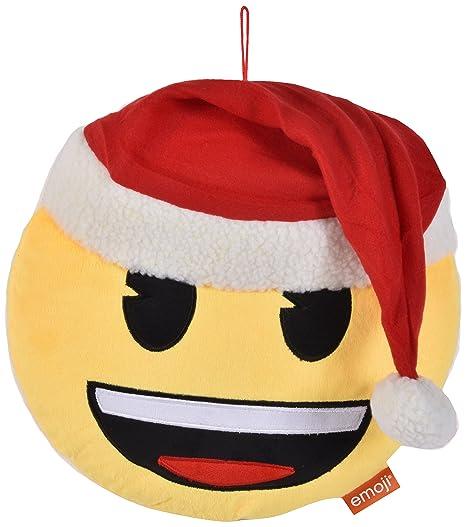 Innova ediciones Navidad Emoji Smiley 30 Cm Funda para cojín ...