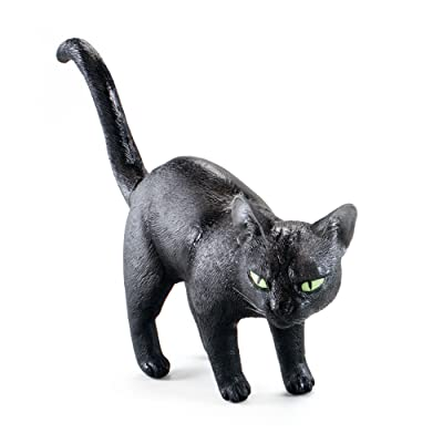 Bristol Novelty AK038 Black Cat Rubber Prop: Toys & Games [5Bkhe0802840]