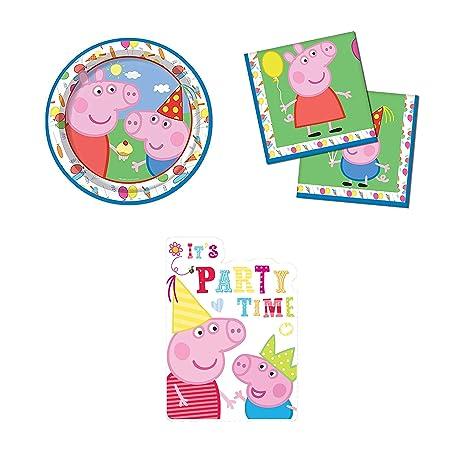 Peppa Pig George Carnival Theme Juego De Tarjetas De