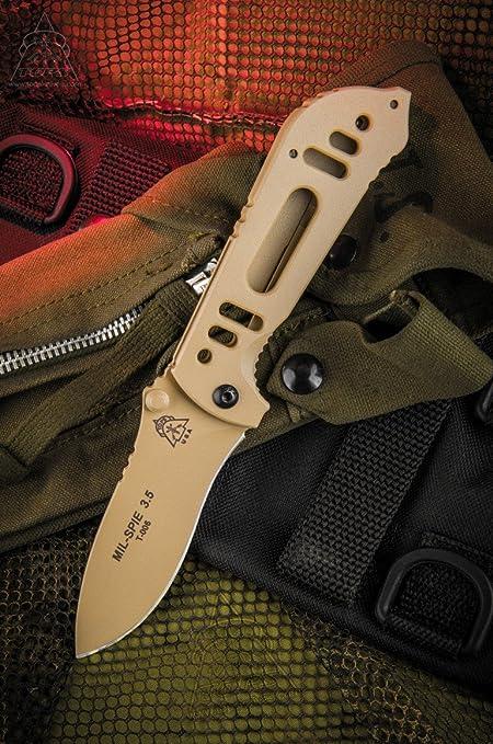 Amazon.com: Tops Knives mil-spie 3,5 Hunter Plegable ...