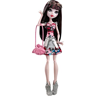 Monster High Boo York, Boo York Frightseers Draculaura Doll: Toys & Games