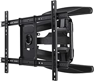 Aiwa Full Motion TV Wall Bracket with Swivel, Tilt and Extension for 40 inch to 75 inch Flat Panel TVs, Load Capacity up to 50kg (AE-D70)